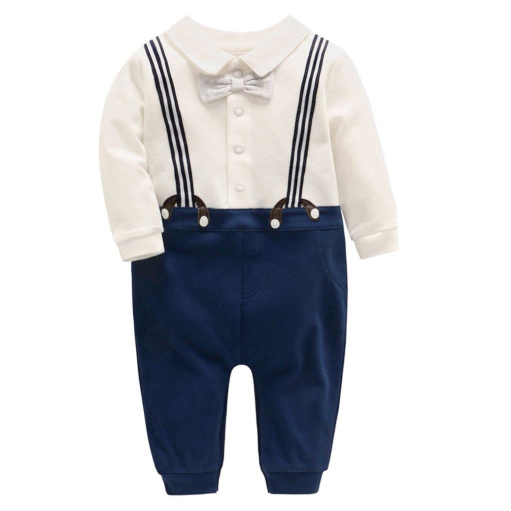 Minizone Baby M/ädchen Strampler Spielanzug Baumwolle Schlafanzug Overalls Prinzessin Baby-Nachtw/äsche
