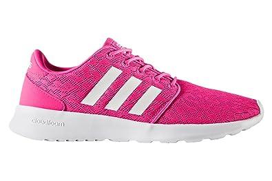 size 40 22733 d3286 adidas Damen Cf Qt Racer W Fitnessschuhe Pink FtwblaRosimp 000, 36 EU