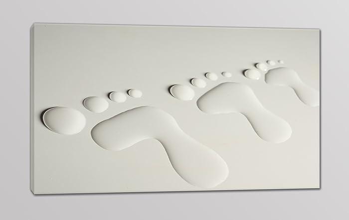 Quadri moderni stampa su tela impronte quadro per arredamento