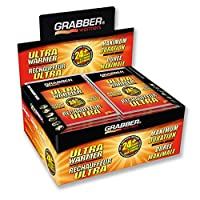 Grabber Ultra Warmers - Calentadores activados por aire sin olor, naturales, seguros y duraderos - Hasta 24 horas de calor - 30 unidades