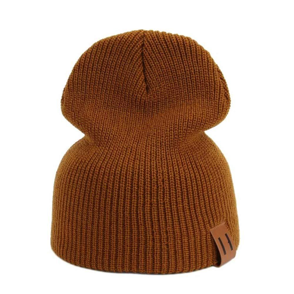 GKETL Herbst Winter M/änner Frauen Beanie Strickm/ützen Mode L/ässig Hip Hop Warme Unisex Casual Ski Hut Weibliche Weiche Baggy Skullies M/ützen
