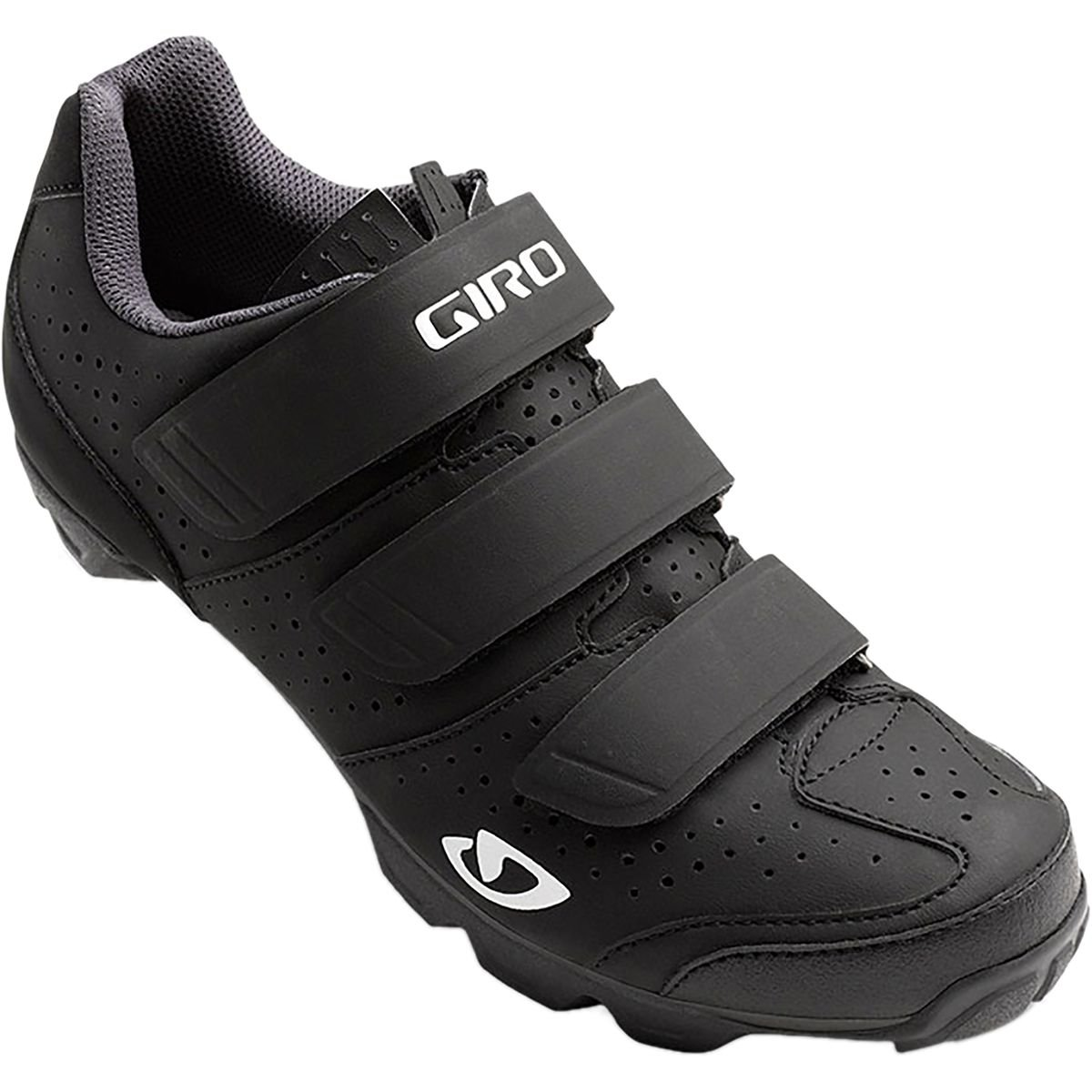 Giro 2017 Womens Riela R Dirt Cycling Shoes (Black/Charcoal - 36)