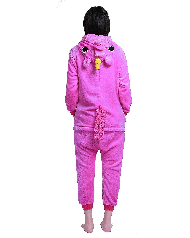 polaire-costume Unisexe All-in-One-pyjamas à capuche 1 Combinaison-Femme-Homme-Nouveauté animaux