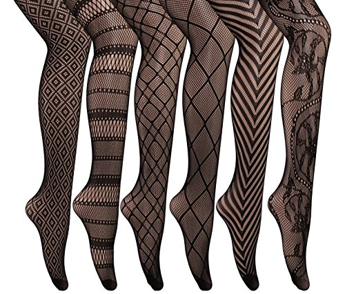 Buy black lace dress coloured tights - 2
