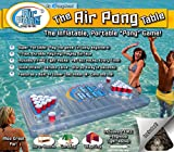 Air Pong The Table, Inflatable Beer Pong Cooler, Floating Beer Pong Table, 7ft, Vinyl, Lightweight, Portable, Comes with a Built-in Cooler and Free Plastic Racks, by PongHead