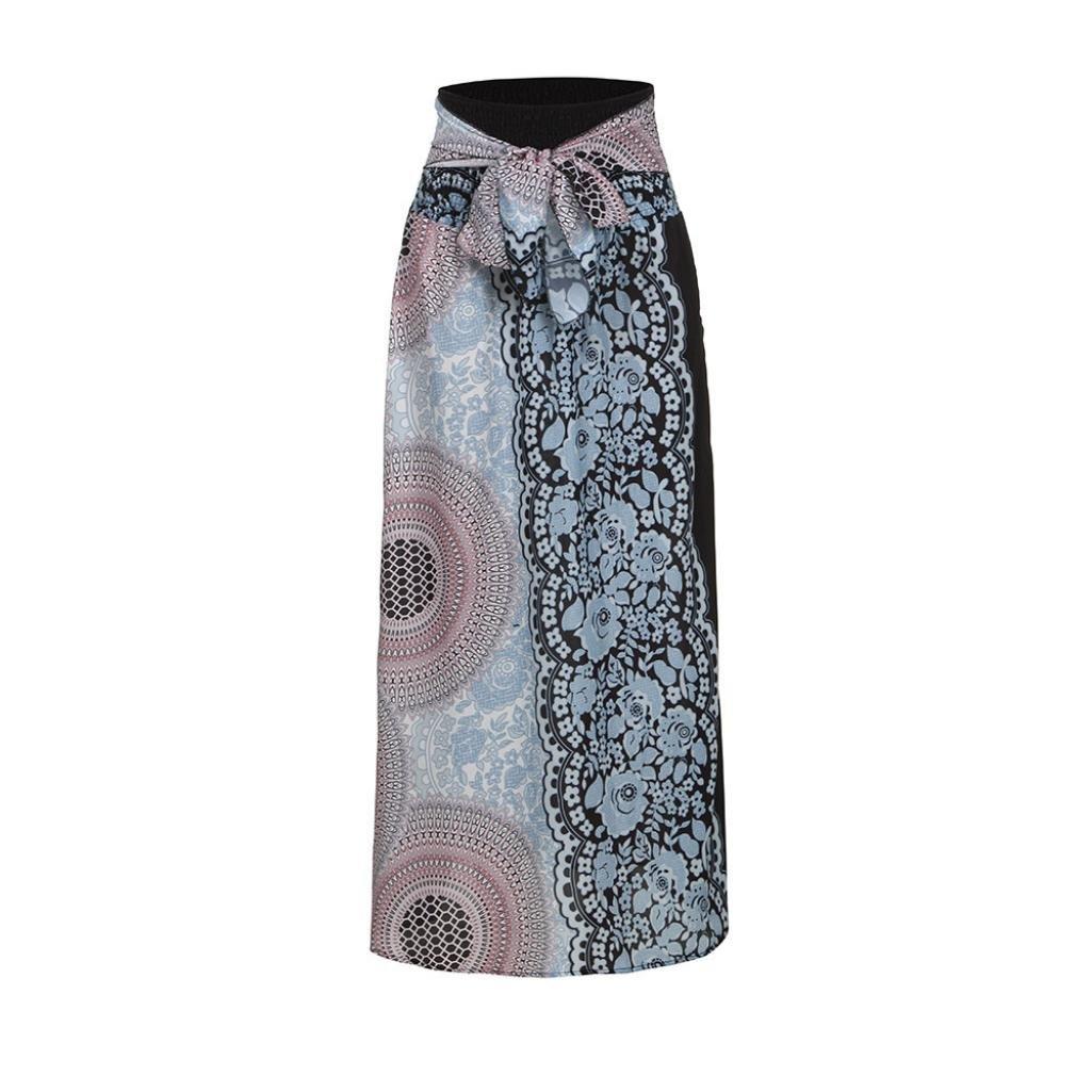 Amazon.com: Vanvler - Vestido largo para mujer, falda ...