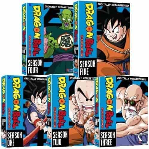 Dragon Ball Complete Seasons 1-5 DVD BoxSets (5 Box Sets)
