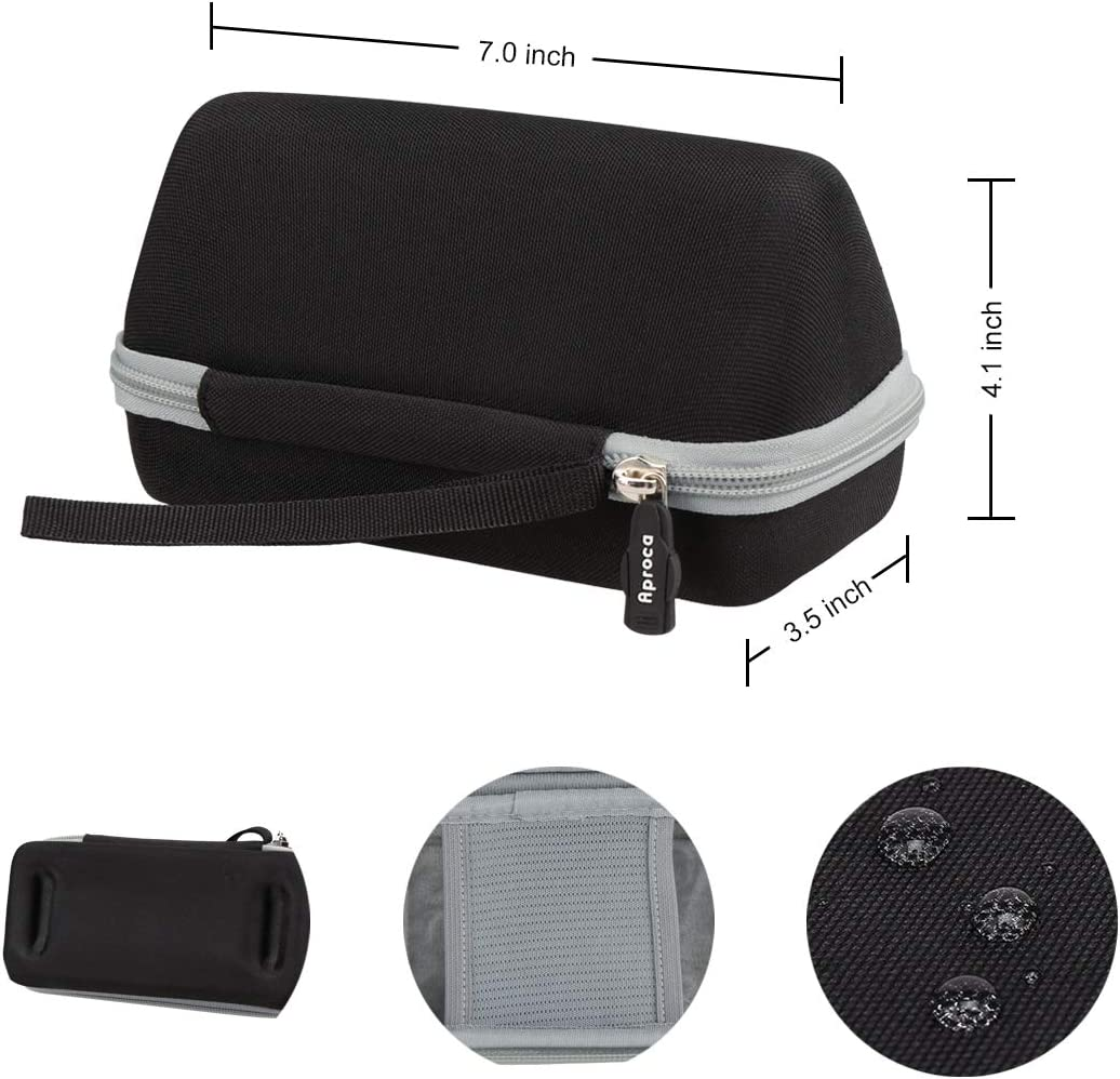 Aproca Hard Storage Case Compatible with Cambridge Soundworks OontZ Angle 3 Plus//Ultra Portable Bluetooth Speaker