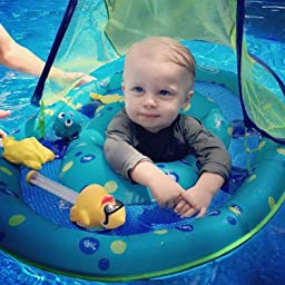 Amazon Com Swimways Baby Spring Float Activity Center