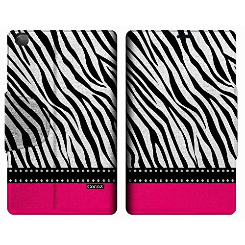 - Galaxy Tab 3 8 Inch Case CocoZ Pink zebra Case Stand Case Cover for Samsung Galaxy Tab 3 8 Inch SM-T310 SM-T311 With Automatic Wake/Sleep Function (FOLLOW THE SKY) (Rose Pink)