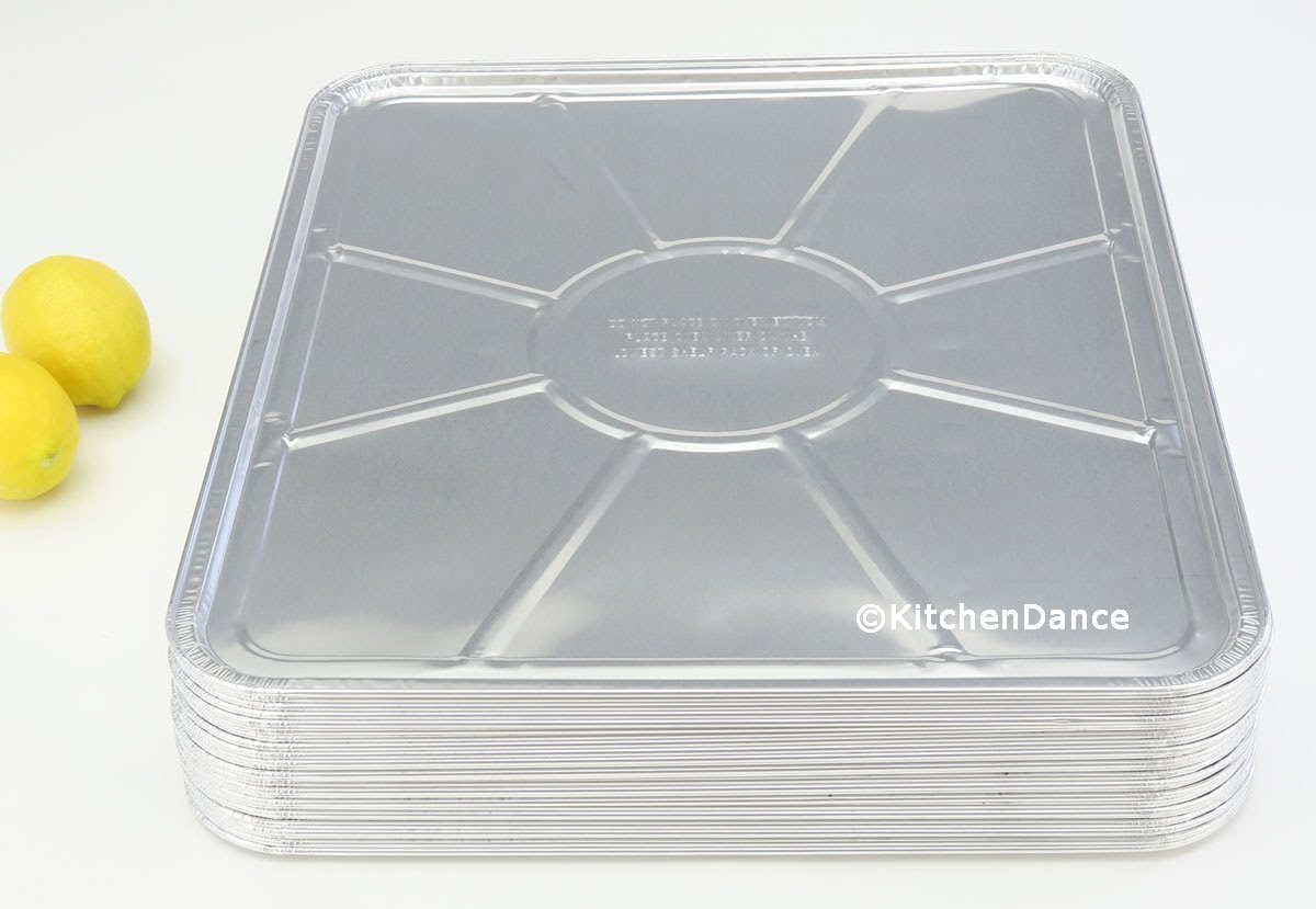 "Durable Disposable Aluminum Oven Liners #7100- 18"" X 15-1/2"" (75)"