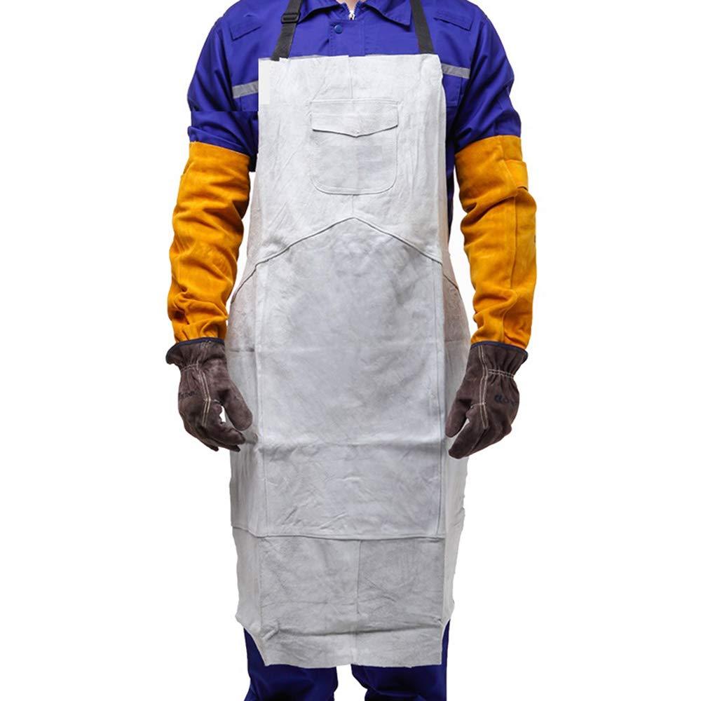calidad de primera clase YLOVOW Cocinegro Profesional de Delantal de Cocina diseñado para la la la Parrilla de la Barbacoa de la Cocina, Ropa Projoectora del Soldador del Aislamiento, Delantal de Soldadura eléctrico  compras de moda online