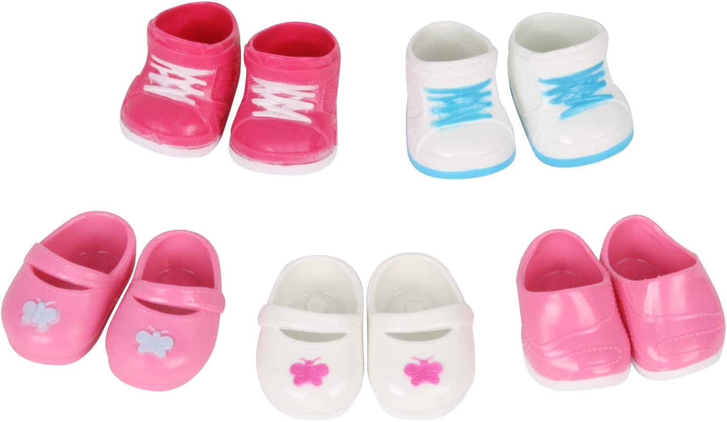 Huang Cheng Toys 5 Pairs of Shoes