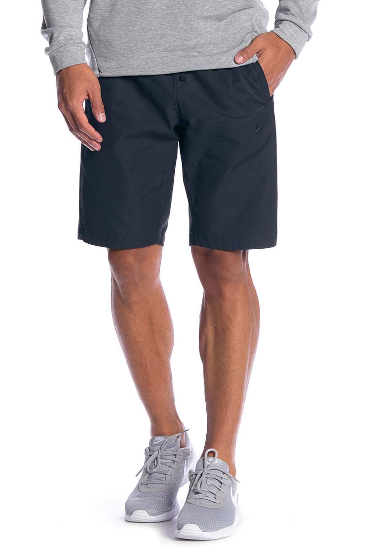 Nike Men's Sportswear Woven Players Shorts-Navy-Small by Nike