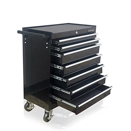 Us Pro Black Tools Affordable Steel Chest Tool Box Roller Cabinet 7