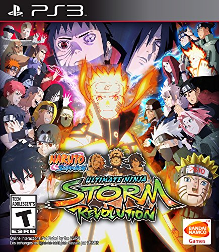 - Naruto Shippuden: Ultimate Ninja Storm Revolution - PlayStation 3