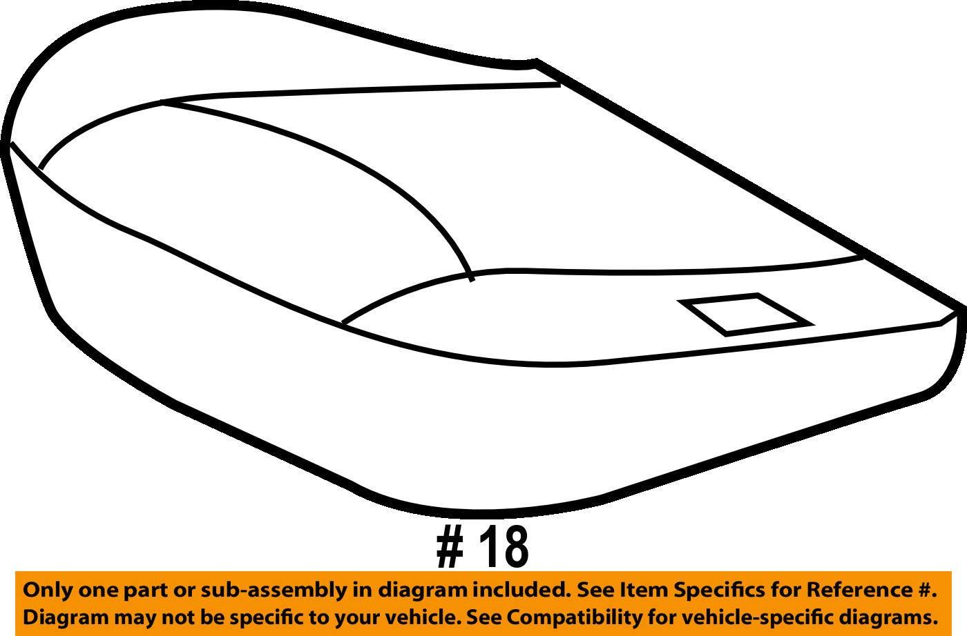 TOYOTA Genuine 71075-42404-B5 Seat Cushion Cover