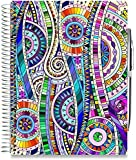 Tools4Wisdom Planners 2018 Planner - 6x9 - Premium Spiral Hardcover w Full Color Pages - Daily Weekly Monthly Yearly Day Planner - Dated January to December Calendar Year