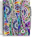 #2: Tools4Wisdom Planners 2018 Planner - 6x9 - Premium Spiral Hardcover w Full Color Pages - Daily Weekly Monthly Yearly Day Planner - Dated January to December Calendar Year
