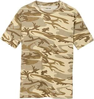 68e7239a Amazon.com: Military Camouflage T-Shirt Army Fashion Color Camo ...