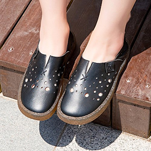 Style2 Minibee Casual Slip Flat Loafer Walking Women's Shoes Travel black On zrwpCq6zxP