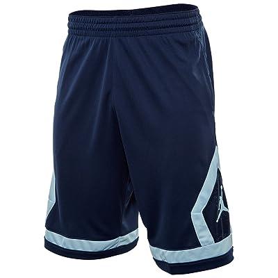 8e18b57cb84 Nike Men's Jordan Flight Diamond Basketball Shorts, Dri-FIT Shorts Jordan  Dark Grey/Black/Black 799543-021