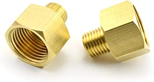 MARRTEUM Brass Pipe Fitting Adapter 1/4