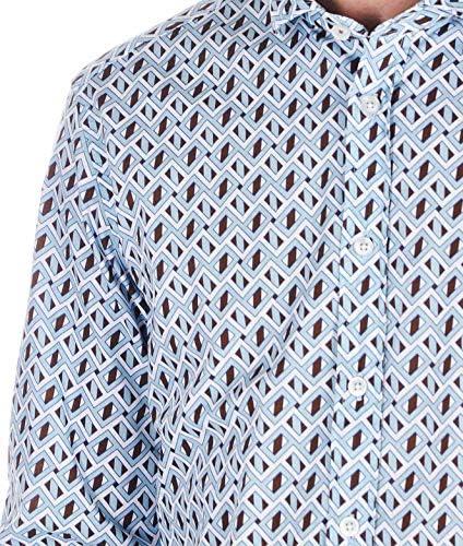 Luxury Fashion | Bastoncino Heren B1585UNICO Blauw Katoen Overhemden | Lente-zomer 20