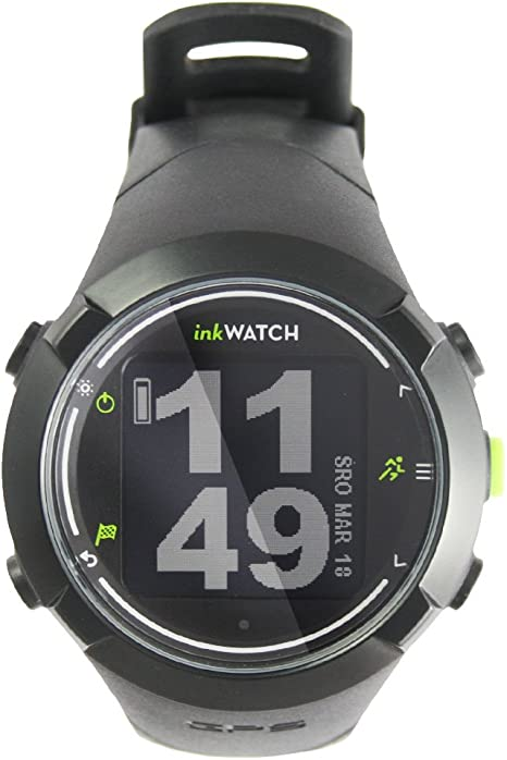 inkwatch Tria – Run bikie Swim – GPS Sport Watch for Running, Cycling, swimming with Virtual Trainer; Fitness Running Watch, Tracks Distance, Time and Pace, Smart Lap, entrenamiento de escaneado, Water and Shock Resistant.