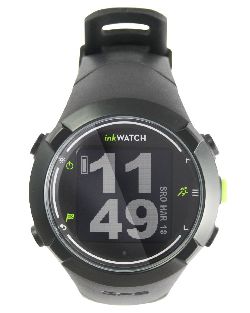inkwatch Tria–Run bikie Swim–GPS Sport Watch for Running, Cycling, swimming with Virtual Trainer; Fitness Running Watch, Tracks Distance, Time and Pace, Smart Lap, entrenamiento de escaneado, Water and Shock Resistant.