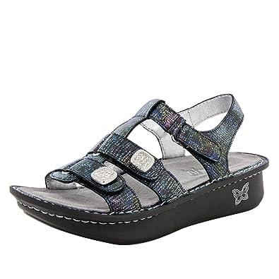 2d2d9eea9e6034 Alegria Womens Kleo Glimmer Glam Sandal - 35