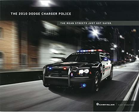 Amazon Com 2010 Dodge Charger Police Car Sales Brochure Literature