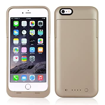 Funda Bateria iPhone 6 Plus/ 6s Plus,NOVPEAK Funda Cargador ...