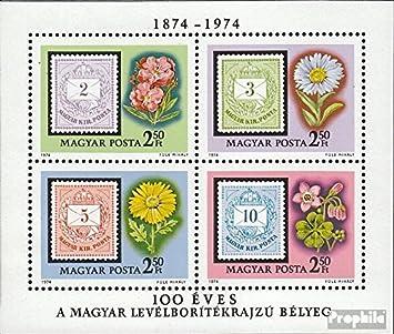Prophila Collection Hungría Michel.-No..: Block105A (Completa.edición.) 1974 Carta con Relación números (Sellos para los coleccionistas) Plantas / Hongos: Amazon.es: Juguetes y juegos