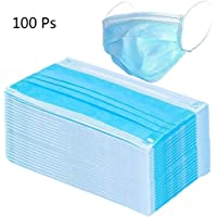 $21 » Dacorda 100pcs Surgical Disposable Three Layer Face Dust Ear Loop, Medical Mouth Flu Mask, for Blocking Dust Air Pollution Flu Protection, 3 Ply…