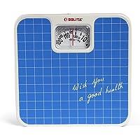 Belita Bps-M-1101 Square Display Large Surface Personal Analog Weighing Scale Upto 120 Kg