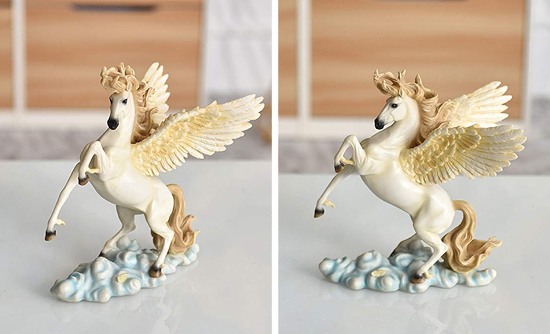 Pegasus 2D sterling silver charm pendant .925 x 1 Fantasy charms SSLP847