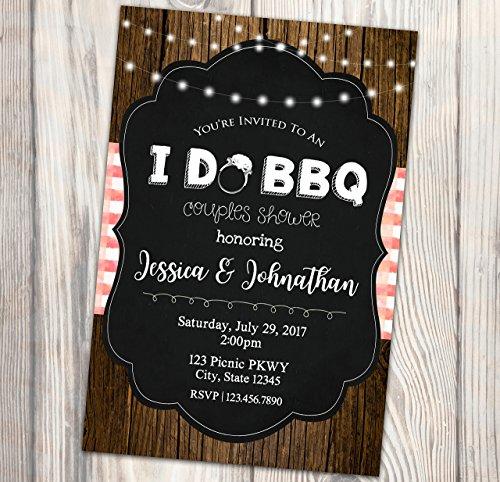 I Do BBQ Bridal Shower Invitation - Summer