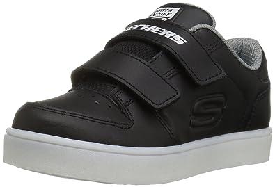 Skechers Baby Jungen Energy Lights Sneaker, Schwarz (Black), 25 EU