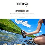 Image of Wacaco Minipresso GR, Portable Espresso Machine, Compatible Ground Coffee, Small Travel Coffee Maker, Manually Operated from Piston Action