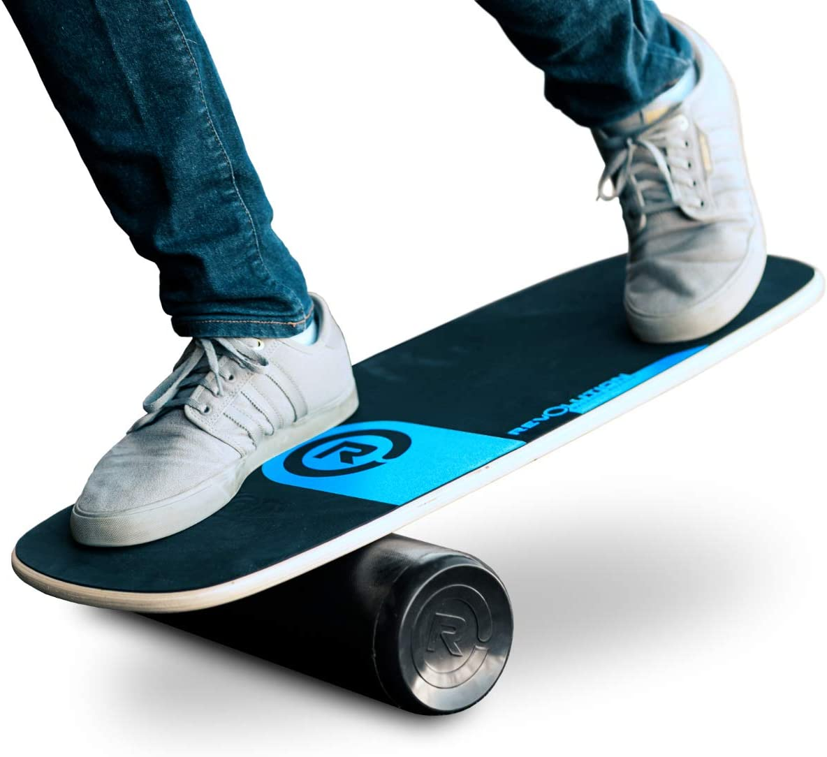 Amazon Com Revolution 101 Balance Board Trainer Blue Sports Outdoors