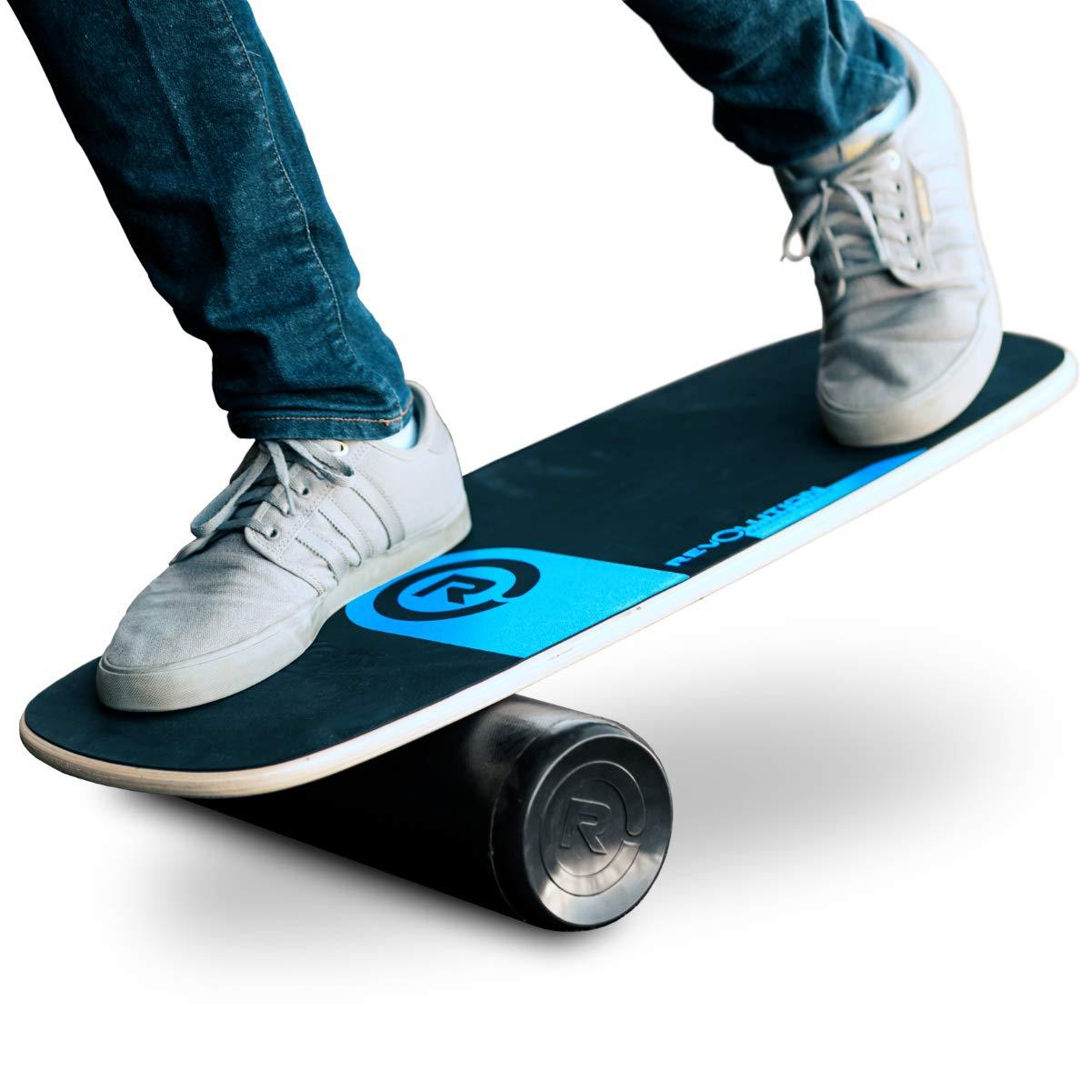 Revolution 101 Balance Board Trainer (Blue) by Revolution Balance Boards (Image #1)
