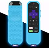 Protective Case for TCL Roku TV Steaming Stick 3600R Remote, Silicone Cover Shock Proof Remote Controller Skin, Anti…