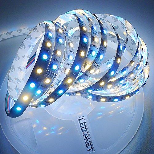 Bright 5050 Tape Light: LEDENET® Super Bright 5050 SMD 24V RGBWW LED Strip