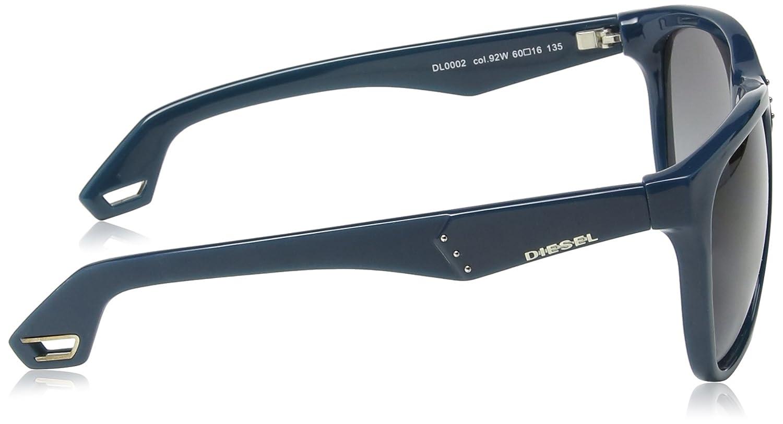 Diesel - Lunette de soleil DL0002 Wayfarer - Dark Green Blue Frame    Gradient Blue  Amazon.fr  Vêtements et accessoires 17ac273088d9
