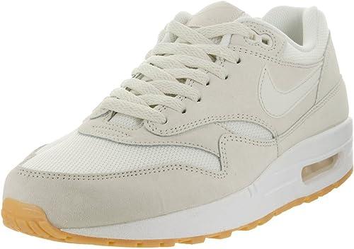 Nike Air Max 1 Essential, Chaussures de Running Homme, Blanc
