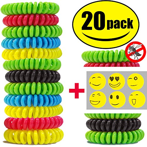 sturme-20-pack-natural-mosquito-repellent-bracelets-waterproof-wristband-wrist-band-bug-insect-prote