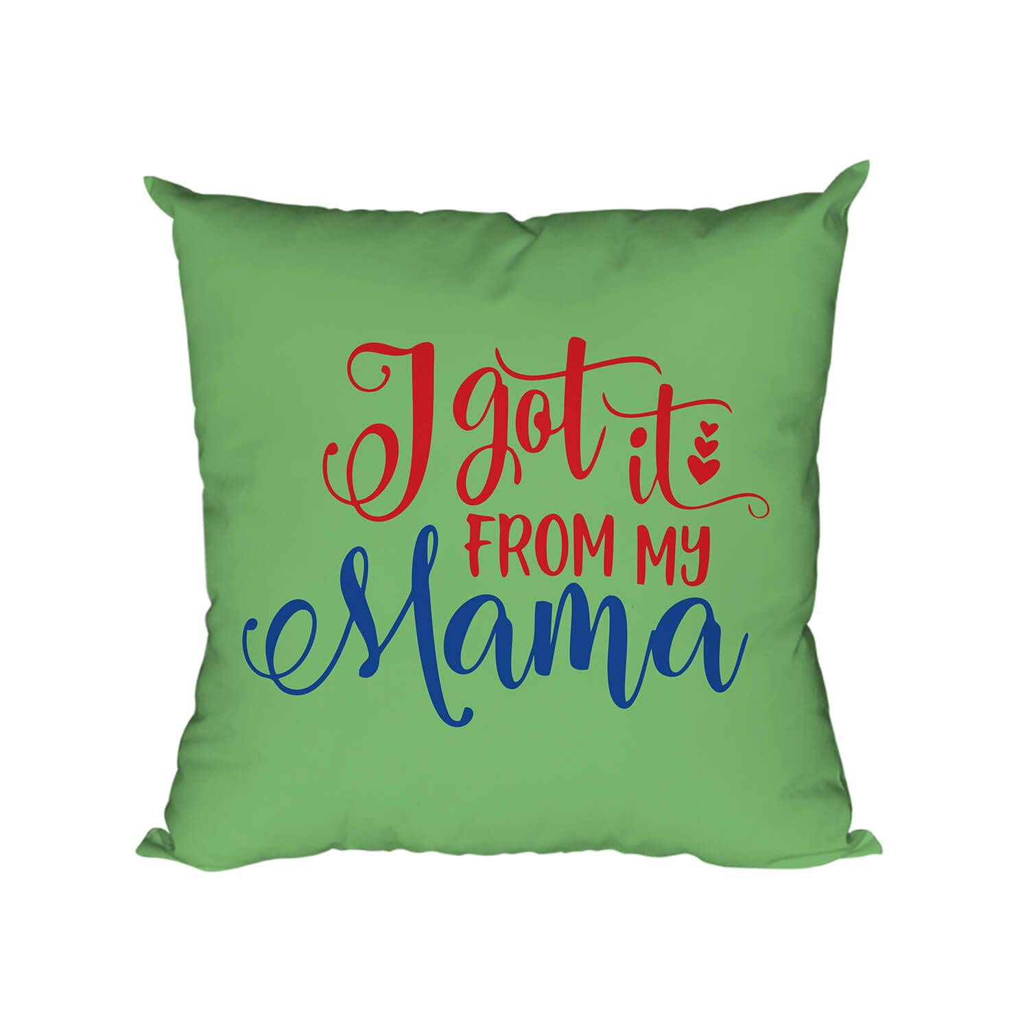 Buy Yaya Cafe For I Got It From My Mama Printed Cushion Covers For Mother Printed Cushion Covers 12x12 Inches For Mother Online At Low Prices In India Amazon In