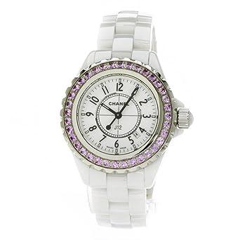 finest selection c887e 46dde Amazon   CHANEL(シャネル) ピンクサファイア J12 腕時計 ...