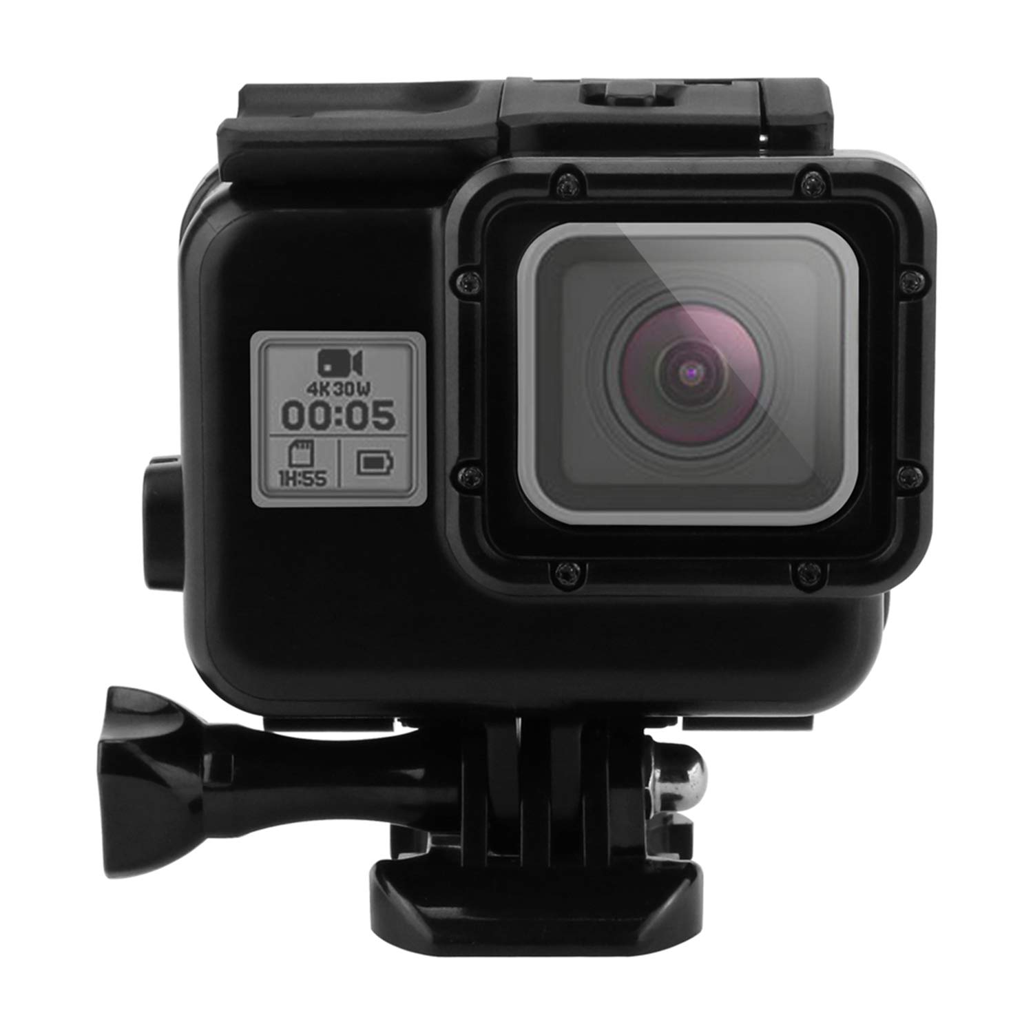 Shoot 45m Underwater Waterproof Case for GoPro Hero 6 5 7 Black Diving Protective Cover Housing Mount for Go Pro 6 5 7 Accessory by unbrand